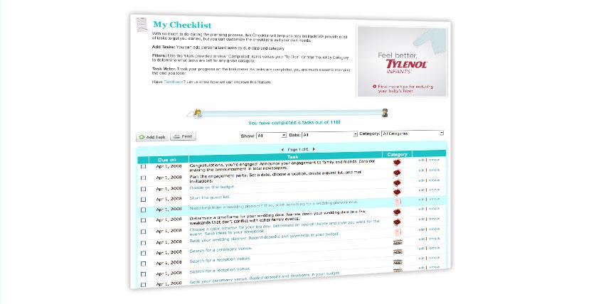 My Checklist Example Image