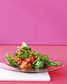 Image of Arugula Salad With Strawberries, Martha Stewart
