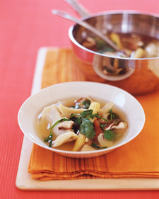 Image of Asian Dumpling Soup, Martha Stewart