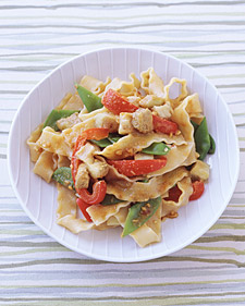 Image of Asian-Style Pasta, Martha Stewart