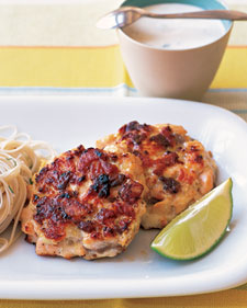 Image of Asian Salmon Patties, Martha Stewart