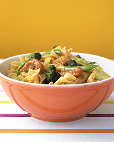 Image of Asian-Style Pork And Noodles, Martha Stewart