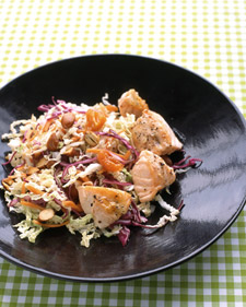 Image of Asian Salad With Salmon, Martha Stewart