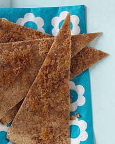 Image of After-School Snack: Cinnamon Tostada, Martha Stewart