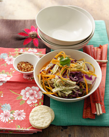 Image of Asian Chicken And Cabbage Salad, Martha Stewart