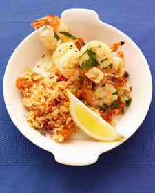 Menu for Broiled Shrimp Scampi