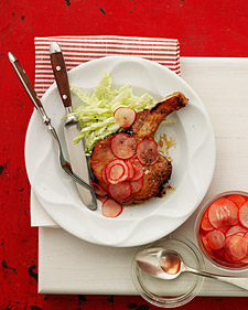 Image of Asian-Style Pork Chops, Martha Stewart