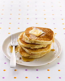 martha stewart's basic pancake recipe