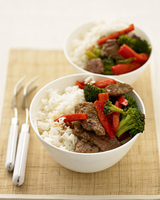 Orange Beef Stir-Fry