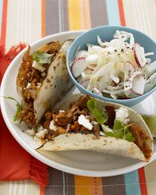 Shredded-Pork Tacos