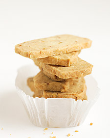 Image of Almond-Orange Shortbread, Martha Stewart