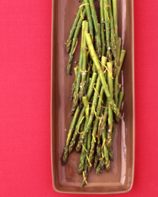 Image of Asparagus With Lemon Butter, Martha Stewart
