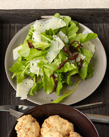 Image of Arugula Salad With Shaved Manchego, Martha Stewart