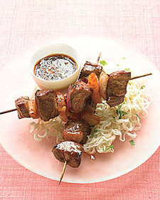 Image of Asian Beef Skewers, Martha Stewart