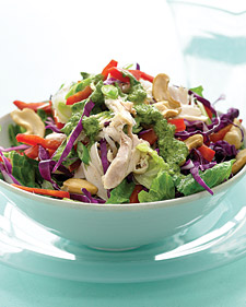 Image of Asian Rotisserie Chicken Salad, Martha Stewart