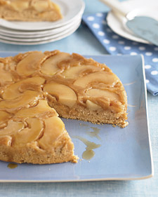 Image of Apple-Cinnamon Upside-Down Cake, Martha Stewart