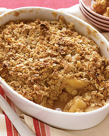 Image of Apple Crisp, Martha Stewart