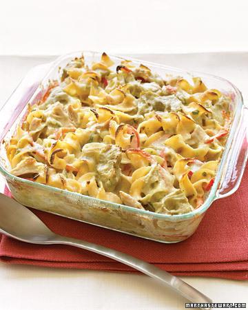 today's recipe: Mediterranean Tuna-Noodle Casserole