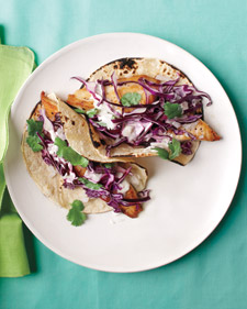 Fish Tacos with Cabbage and Lime Recipe