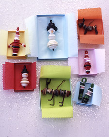 božićni ukrasi od gumba