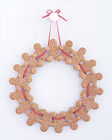 Gingerbread-Man Wreath