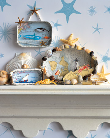 Craft Ideas Nautical Theme on Martha Stewart Is Always At The Ready With Craft Ideas For This One
