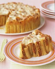 Baked Rigatoni Cake