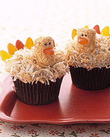 Turkey Cupcakes and more delicious recipes smart cooking tips and video demonstrations on marthastewart com from marthastewart.com