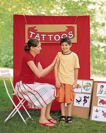 60 Summer Activities for Kids. Temporary Tattoos