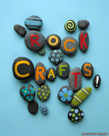 Craft Ideas Year Olds on Find Ideas On Rock Crafts At Martha Stewart