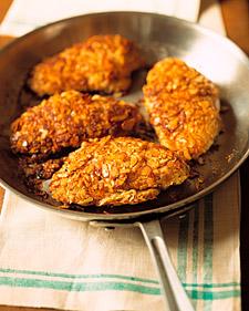 Image of Almond-Crusted Chicken, Martha Stewart