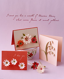 How to Make Quilled Cards