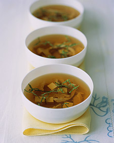 Image of Asian Chicken Soup, Martha Stewart