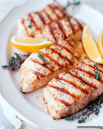 Fish recipe striper