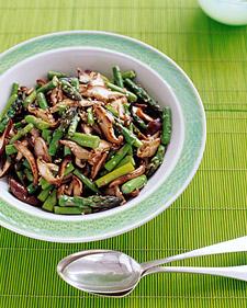 Image of Asparagus And Shiitake Stir-Fry, Martha Stewart