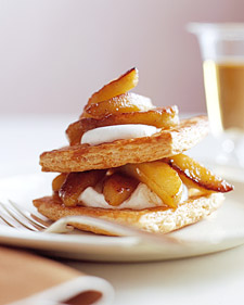 Image of Apple Napoleons, Martha Stewart