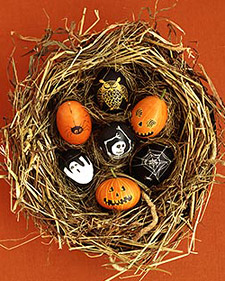 Bewitching Halloween Eggs