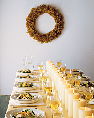 Martha Stewart Thanksgiving Tablescape
