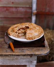 Image of Apple Pie With Cheddar Crust, Martha Stewart