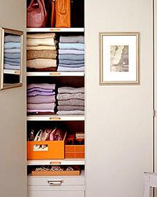 Perfectly folded sweater and tops! via Martha Stewart
