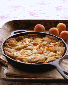 Image of Apricot-Almond Cobbler, Martha Stewart