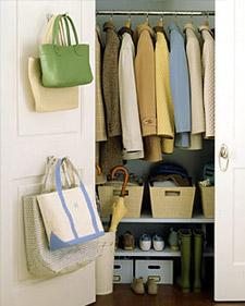 Coat Closet Organizer