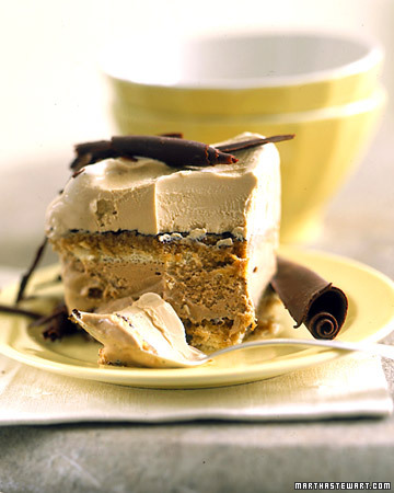 Tiramisu Ice Cream Cake - Martha Stewart Recipes