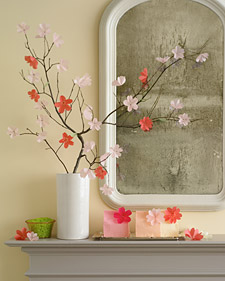 Paper Display Cherry Blossom