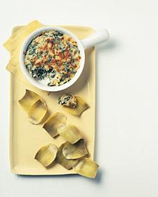 Image of Artichoke-Spinach Dip, Martha Stewart