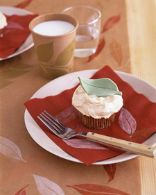 Image of Apple Cupcakes, Martha Stewart