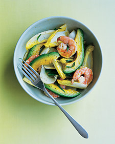 Image of Avocado, Shrimp, And Endive Salad, Martha Stewart