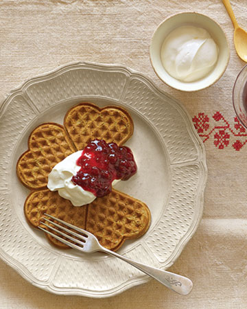 buttermilk waffle recipe. Waffle Recipes