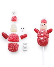 Gum drop Santa