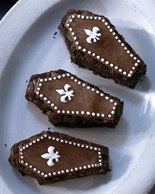 Image of Almond Brownie Coffins, Martha Stewart
